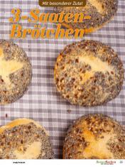 Rezept - 3-Saaten-Brötchen - Besser Backen mit Tommy Weinz – Brötchen