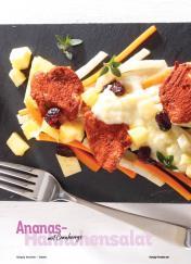 Rezept - Ananas-Hähnchensalat mit Cranberrys - Simply Kochen Sonderheft Best of Salate