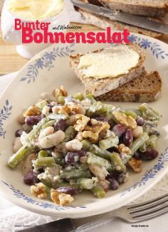 Rezept - Bunter Bohnensalat mit Walnüssen - Simply Kochen Sonderheft Best of Salate