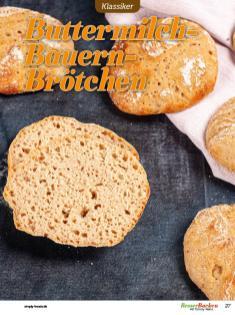 Rezept - Buttermilch-Bauern-Brötchen - Besser Backen mit Tommy Weinz – Brötchen