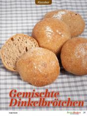 Rezept - Gemischte Dinkelbrötchen - Besser Backen mit Tommy Weinz – Brötchen
