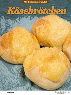 Rezept - Käsebrötchen - Besser Backen mit Tommy Weinz – Brötchen