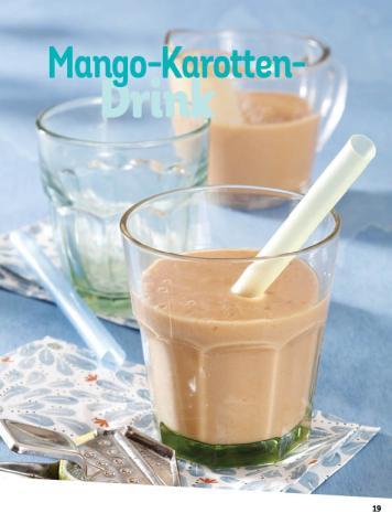 Rezept - Mango-Karotten-Drink - Simply Kochen Diät-Rezepte für die ganze Familie