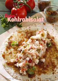 Rezept - Roter Kohlrabisalat - Simply Kochen Sonderheft Best of Salate