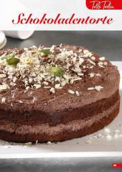Rezept - Schokoladentorte - Simply Backen Sonderheft Kuchen – 01/2020