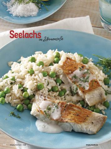 Rezept - Seelachs in Zitronensoße - Simply Kochen Diät-Rezepte für die ganze Familie