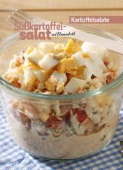Rezept - Süßkartoffelsalat mit Blumenkohl - Simply Kochen Sonderheft Best of Salate