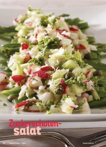 Rezept - Zuckerschotensalat - Simply Kochen Sonderheft Best of Salate
