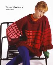 Strickanleitung - Bis ans Maximum! - Vintage Pullover - Designer Knitting - 01/2020