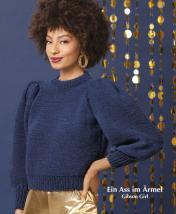 Strickanleitung - Ein Ass im Ärmel - Gibson Girl - Designer Knitting - 01/2020