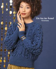 Strickanleitung - Ein Ass im Ärmel - Victoriana - Designer Knitting - 01/2020