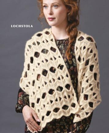 Strickanleitung - Lochstola - Designer Knitting - 01/2020