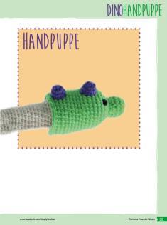 Häkelanleitung - Handpuppe - Fantastische Häkelideen Bärchenparty Amigurumi Vol. 24