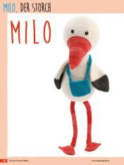 Häkelanleitung - Milo, der Storch - Fantastische Häkelideen Bärchenparty Amigurumi Vol. 24