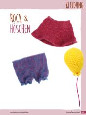 Häkelanleitung - Rock & Höschen - Fantastische Häkelideen Bärchenparty Amigurumi Vol. 24