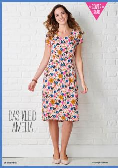 Nähanleitung - Das Kleid Amelia (Version A) - Simply Nähen 02/2020