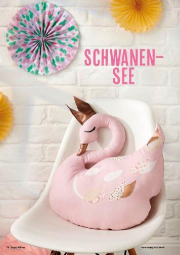Nähanleitung - Schwanensee - Simply Nähen 02/2020