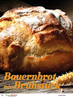 Rezept - Bauernbrot mit Brühstück - Brote Backen mit Tommy Weinz 02/2020