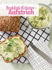 Rezept - Brokkoli-Kräuter-Aufstrich - Simply Kochen Sonderheft Low Carb