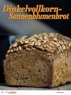 Rezept - Dinkelvollkorn-Sonnenblumenbrot - Brote Backen mit Tommy Weinz 02/2020