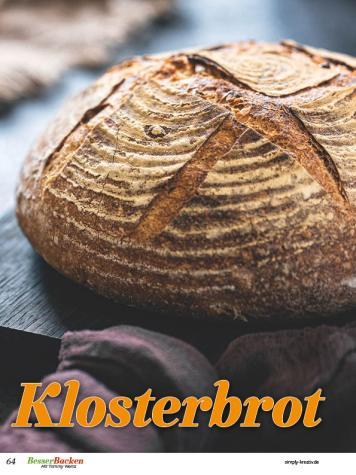 Rezept - Klosterbrot - Brote Backen mit Tommy Weinz 02/2020