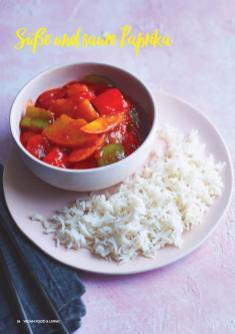Rezept - Süße und saure Paprika - Vegan Food & Living – 02/2020