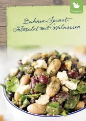 Rezept - Bohnen-Spinat-Fetasalat mit Walnüssen - Simply Kreativ Extra – Leckere Ideen für den Thermomix® 01/2020