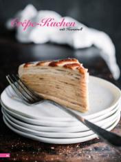 Rezept - Crêpe-Kuchen mit Karamell - Simply Backen Kuchen & Kleingebäck – 01/2020