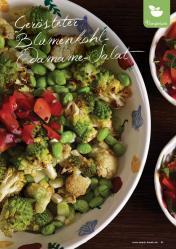 Rezept - Gerösteter Blumenkohl-Edamame-Salat - Simply Kreativ Extra – Leckere Ideen für den Thermomix® 01/2020