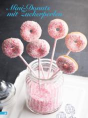 Rezept - Mini Donuts mit Zuckerperlen - Simply Backen Kuchen & Kleingebäck – 01/2020