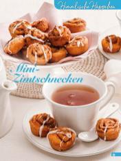 Rezept - Mini Zimtschnecken - Simply Backen Kuchen & Kleingebäck – 01/2020