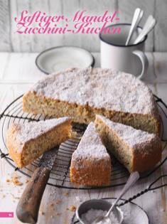 Rezept - Saftiger Mandel-Zucchini-Kuchen - Simply Backen Kuchen & Kleingebäck – 01/2020