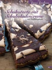 Rezept - Schokotarte mit Schokoladencreme und Zartbitterglasur - Simply Backen Kuchen & Kleingebäck – 01/2020