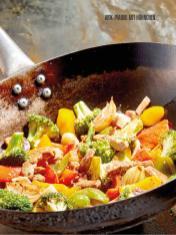 Rezept - Wok-Pfanne mit Hähnchen - Bewusst Low Carb Sonderheft: Fasten – 02/2020