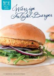 Rezept - Würzige Falafel-Burger - Simply Kreativ Extra – Leckere Ideen für den Thermomix® 01/2020
