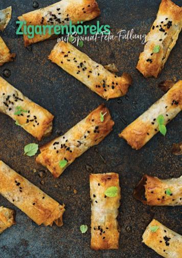 Rezept - Zigarrenbörek mit Spinat-Feta-Füllung - Simply Kochen Heißluft-Fritteuse