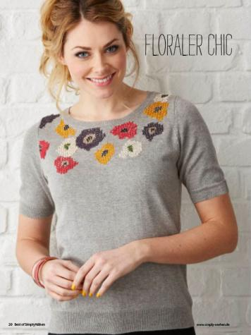 Nähanleitung - Floraler Chic - Simply Nähen Sonderheft Upcycling 01/2020