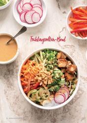 Rezept - Frühlingsrollen-Bowl - Vegan Food & Living – 03/2020