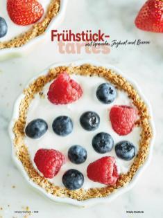 Rezept - Frühstückstartes mit Granola, Joghurt und Beeren - Simply Kochen Diät-Rezepte für gesunde Ernährung