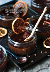 Rezept - Schokoladen-Ganache mit Orangensirup - Vegan Food & Living – 03/2020