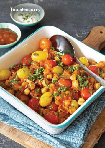 Rezept - Tomatencurry - Vegan Food & Living – 03/2020