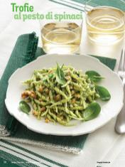 Rezept - Trofie al pesto di spinaci - Simply Kochen Italienische Küche