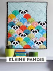 Nähanleitung - Kleine Pandis - Simply Kreativ Best of Patchwork + Quilting 01/2020