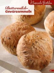 Rezept - Buttermilch-Gewürzsemmeln - Simply Backen Extra Brötchen