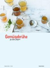 Rezept - Gemüsebrühe für klare Suppen - Simply Kochen mit Vorräten 02/2020