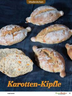Rezept - Karotten-Kipfle - Brötchen Backen mit Tommy Weinz Teil 2 – 03/2020