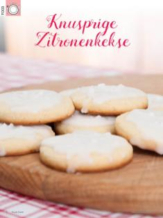 Rezept - Knusprige Zitronenkekse - Simply Kreativ Heft 02/2020