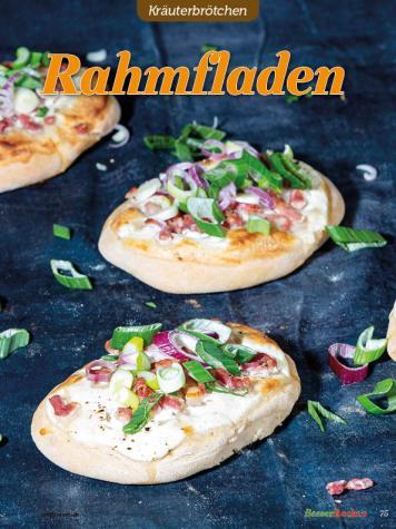 Rezept - Rahmfladen - Brötchen Backen mit Tommy Weinz Teil 2 – 03/2020