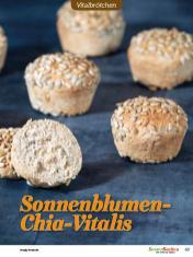 Rezept - Sonnenblumen-Chia-Vitalis - Brötchen Backen mit Tommy Weinz Teil 2 – 03/2020