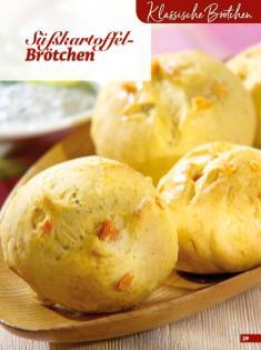 Rezept - Süßkartoffel-Brötchen - Simply Backen Extra Brötchen